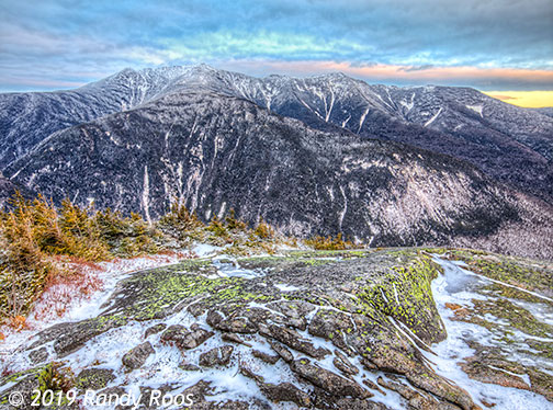 The Franconia Range from the ledges on Cannon Mt #2