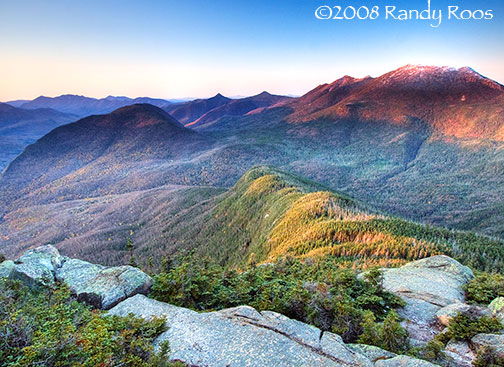 Franconia Range from Mt Garfield #2