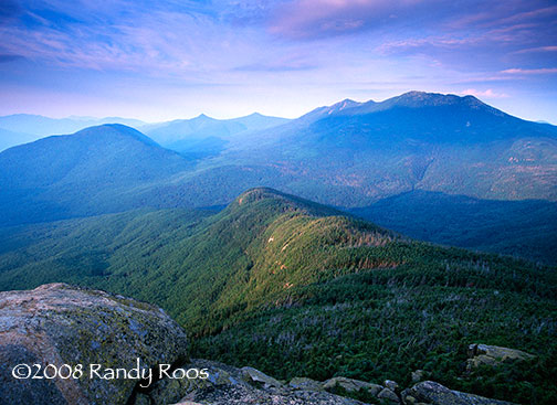 Franconia Range from Mt Garfield #1